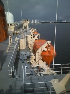『南極観測船しらせ』に乗ったどー